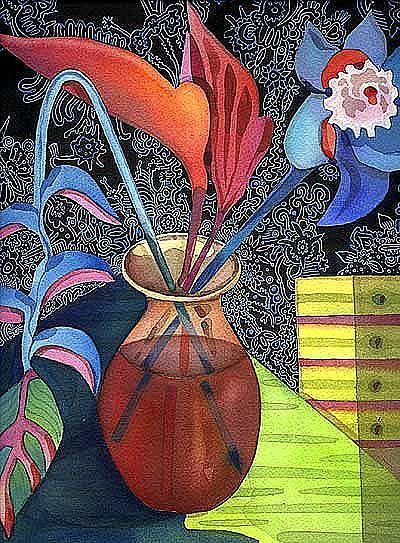Art: HELICONIA - Lori Rase Hall (RipsOff) Heike Strobel by Artist Lori Rase Hall