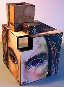 Detail Image for art Brook Face Cube