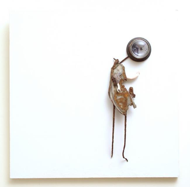 Art: What She Saw by Artist john christopher borrero
