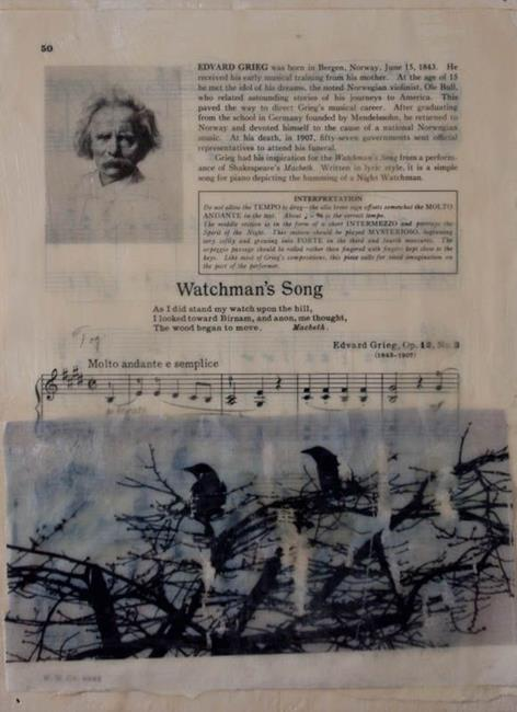 Art: Grieg was born in June by Artist Gabriele Maurus