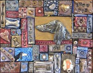 Detail Image for art Saluki 1