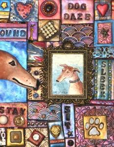 Detail Image for art Greyhound Mosaic