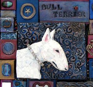Detail Image for art Bull Terrier Mosaic 1
