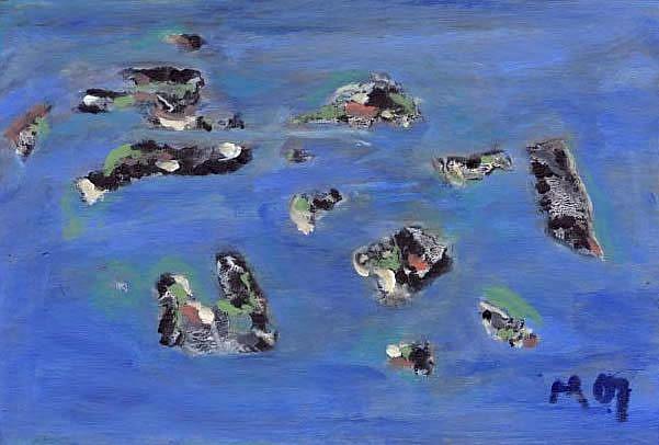 Art: Durham Islands by Artist Gabriele Maurus