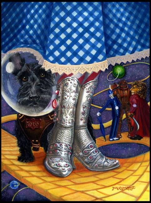 Art: Oz by Artist Madeline  Carol Matz