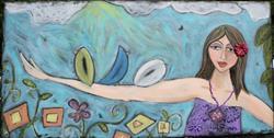 Art: The Bird Whisperer by Artist Aimee Marie Wheaton