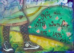 Art: Wander by Artist Aimee Marie Wheaton