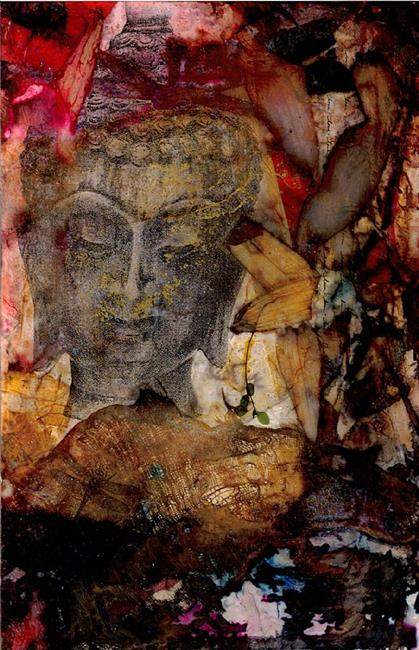 Art: Song Of The Buddha by Artist Kathy Morton Stanion