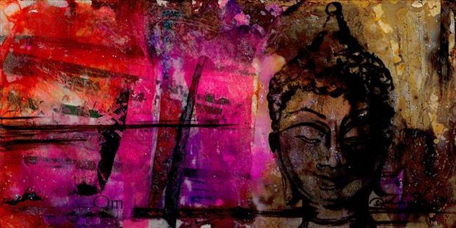 Art: Buddha Song by Artist Kathy Morton Stanion