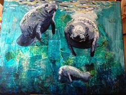 Art: 3 Sisters by Artist Aimee Marie Wheaton