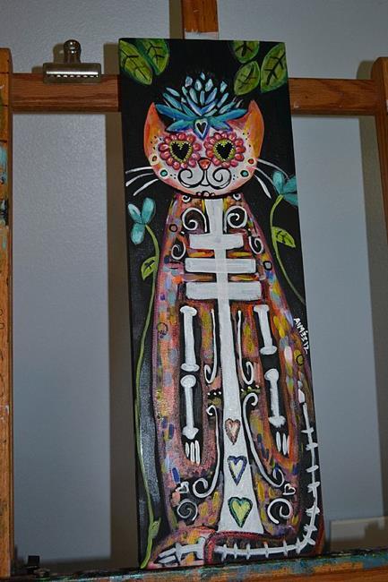 Art: El Gato by Artist Aimee Marie Wheaton