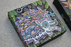 Art: Erizo by Artist Aimee Marie Wheaton