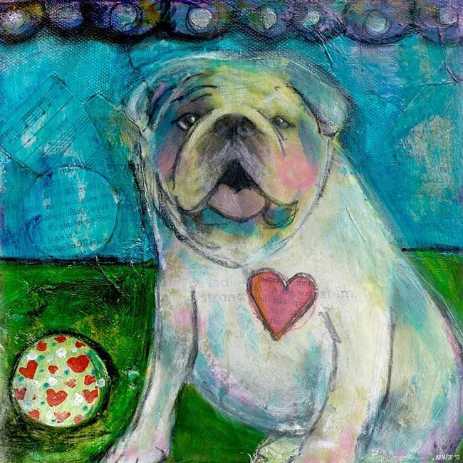 Art: LoveABull by Artist Aimee Marie Wheaton
