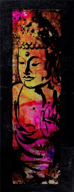 Art: Buddha No. mm52 by Artist Kathy Morton Stanion
