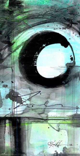Art: The Enso Of Zen No. mm7 by Artist Kathy Morton Stanion