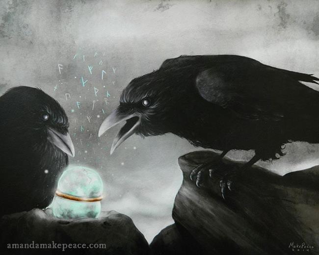Art: Stone of Knowing II by Artist Amanda Makepeace
