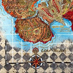 Detail Image for art Leaf Island