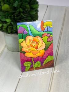 Detail Image for art Autumn Rose