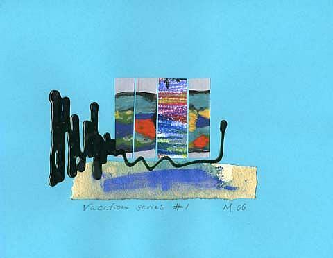 Art: Vacation Series #1 by Artist Gabriele Maurus