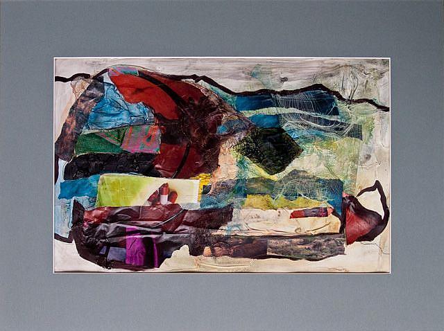 Art: The Monday Crowd by Artist Gabriele Maurus