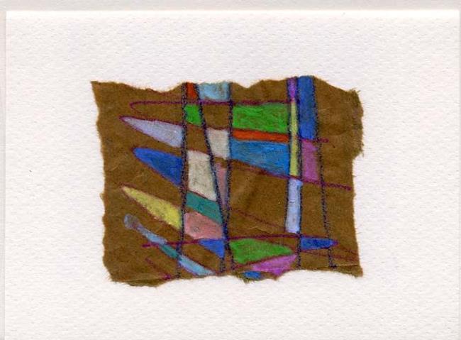 Art: BEAVERFLAGS Greeting Card 01 by Artist Gabriele Maurus