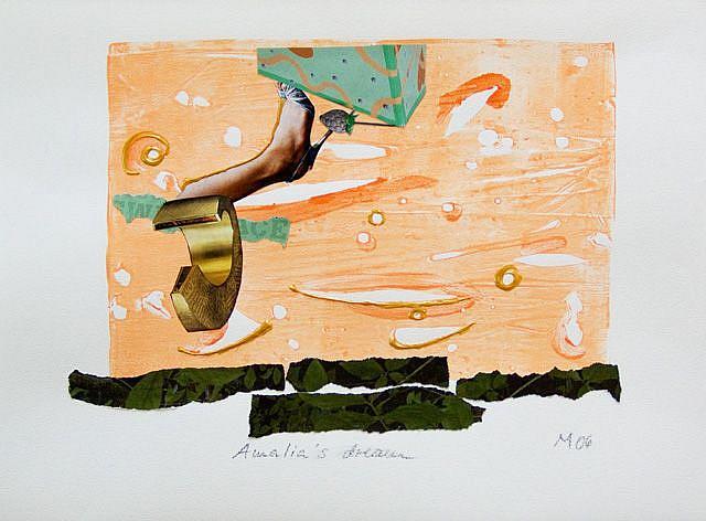Art: Amalia's Dream by Artist Gabriele Maurus