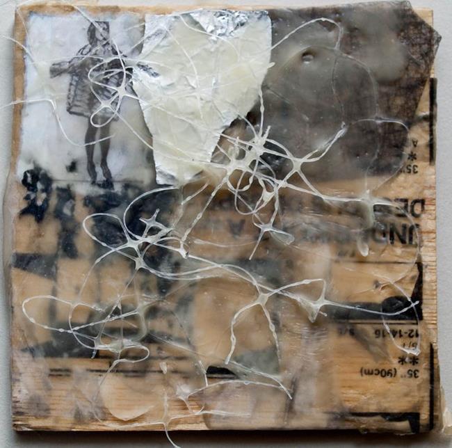 Art: Open Coat, End, Mind by Artist Gabriele Maurus