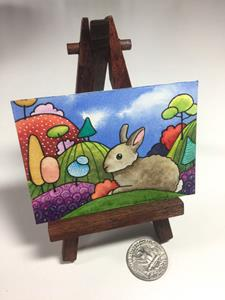 Detail Image for art Rabbit in the Hills