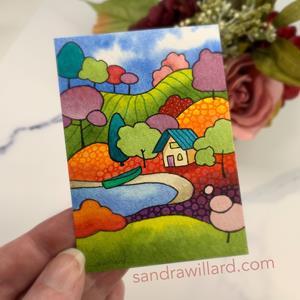 Detail Image for art Summer Cabin