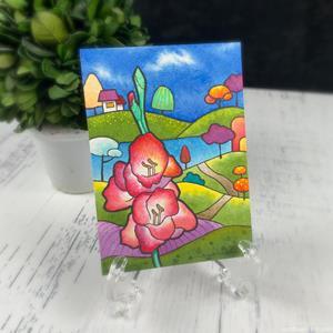 Detail Image for art Gladiola for Helen