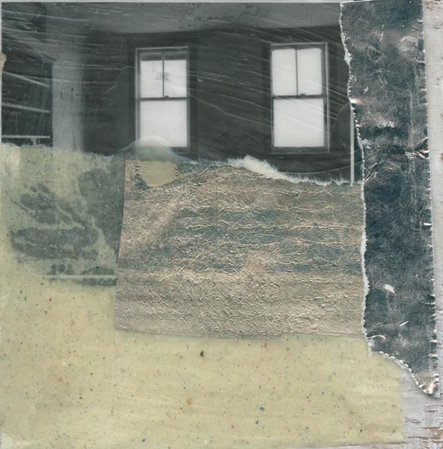 Art: Vertical Silver Lining by Artist Gabriele M.