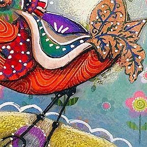 Detail Image for art Funky Bird