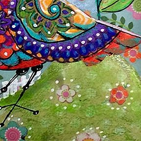 Detail Image for art Quirky Bird