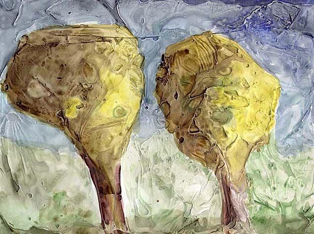Art: Have you heard about the Dwarf Juniper? by Artist Gabriele Maurus