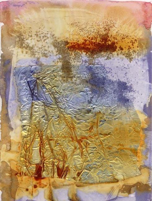 Art: Sedimentary I by Artist Gabriele Maurus