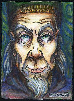 Art: ATC - Wizard #1 by Artist Madeline  Carol Matz