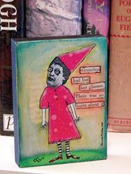 Art: Grandma lost her glasses by Artist Dianne McGhee