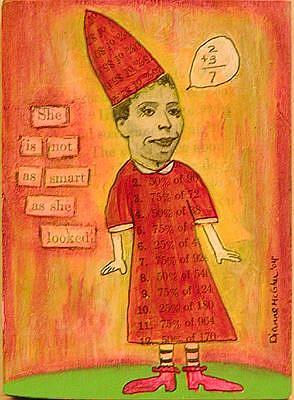 Art: Not As Smart As She Looked by Artist Dianne McGhee