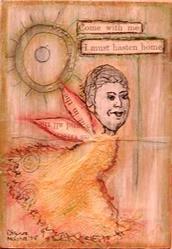 Art: Hasten Home by Artist Dianne McGhee