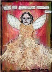 Art: Under Her Wings by Artist Dianne McGhee