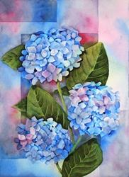 Art: Hydrangeas by Artist Melanie Pruitt