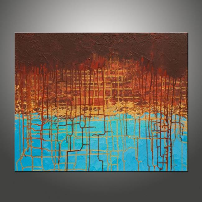 Art: Electrical Charge 5 by Artist Hilary Winfield