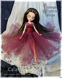 Art: Fully customised Monster High doll Calathea by Artist Jo Hards
