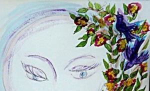 Detail Image for art Moon-face 5:  Full Moon