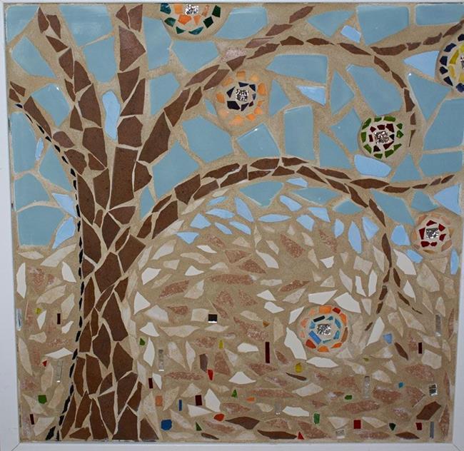 Art: Tree of Light by Artist Karen Lynn Evans