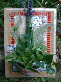 Art: O Happy Day Wall Vase/Planter by Artist Lauren K Blair