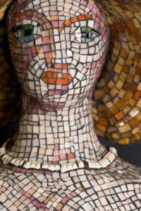 Detail Image for art Mosaic Lady - Sale!