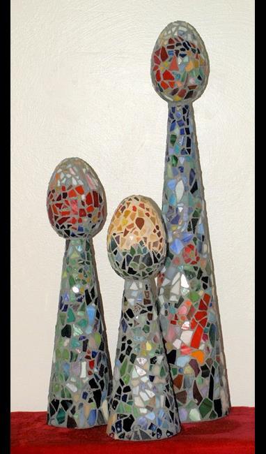 Art: Spores by Artist Nancy Barnes