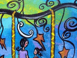 Detail Image for art Mother Daughter Talk