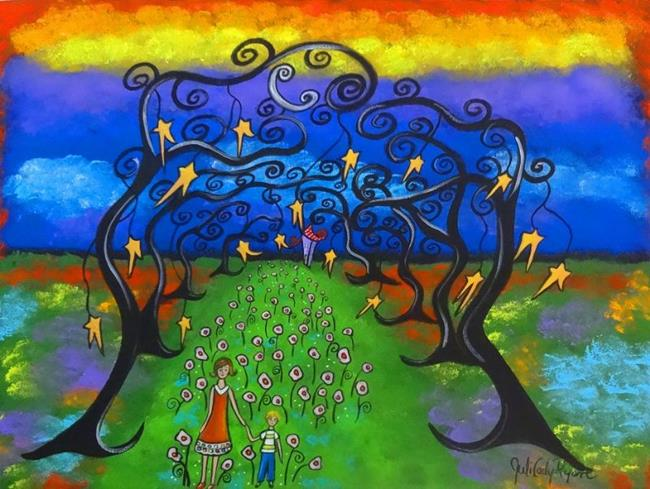 Art: Growing Up by Artist Juli Cady Ryan